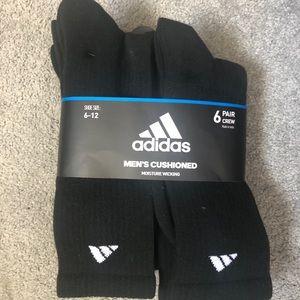 Men's adidas crew socks size 6-12